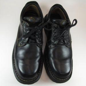 Born Blk Leather Oxfords Sz 8M  Mens. Casual(0039)